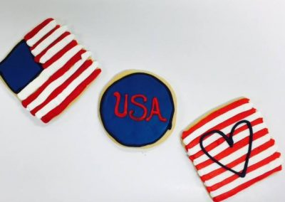 Lanes-Bakery-Custom-Cookies-USA-Flag