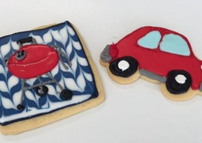 Lanes-Bakery-Custom-Cookies-car-grill